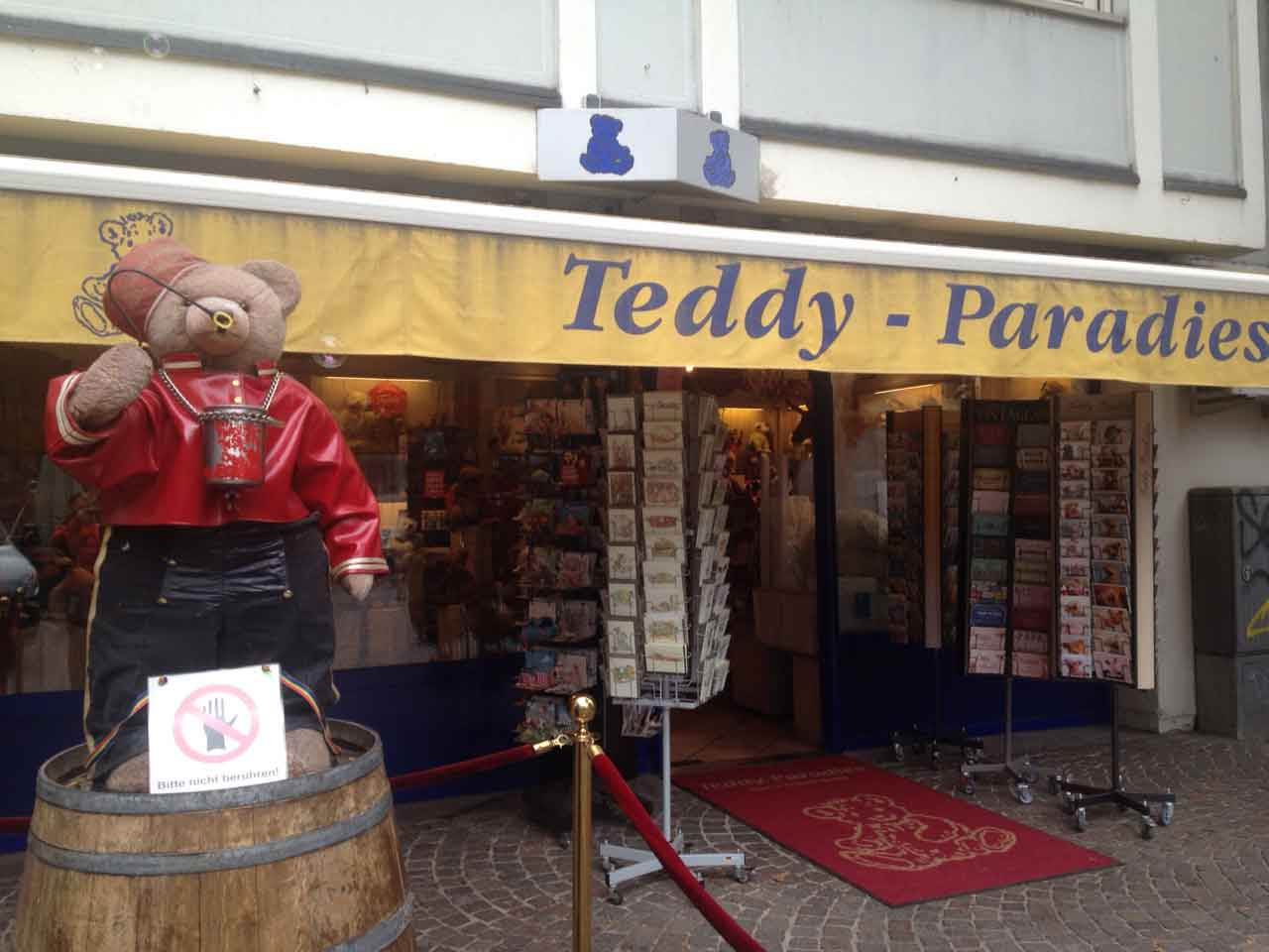 Teddy-Paradies in Frankfurt