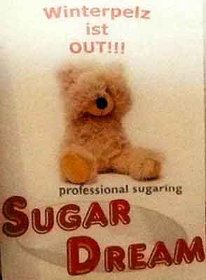 Sugaring Haarentfernung